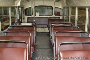 ЛиАЗ-158В 1965 года в музее Московский транспорт