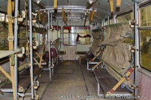 ЛиАЗ-677 санитарный в музее Московский транспорт