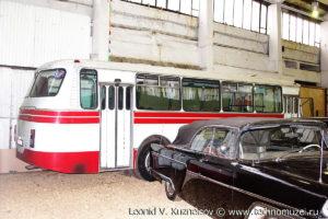 ЛАЗ-695Н в музее Московский транспорт