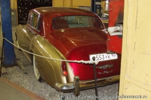 Bentley Continental S1 1955 года в музее Московский транспорт