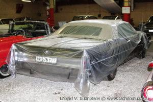 Кабриолет Cadillac Convertible DeVille 1965 года в музее Московский транспорт