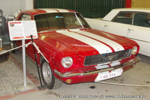 Купе Ford Mustang 1967 года в музее Московский транспорт