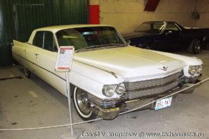 Седан Cadillac Series 6200 1963 года в музее Московский транспорт