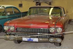 Купе Cadillac Coupe de Ville 1959 года в музее Московский транспорт
