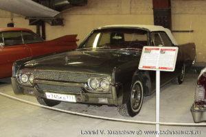 Кабриолет Lincoln Continental 1963 года в музее Московский транспорт