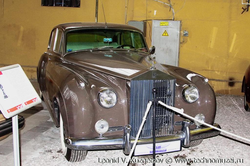 Rolls-Royce Silver Cloud I 1955 года в музее Московский транспорт
