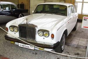 Rolls-Royce Silver Shadow I 1965 года в музее Московский транспорт