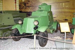 Бронеавтомобиль ФАИ на выставке Моторы войны на Поклонной горе