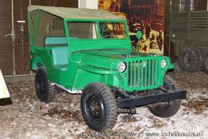 Willys MB на выставке Моторы войны на Поклонной горе
