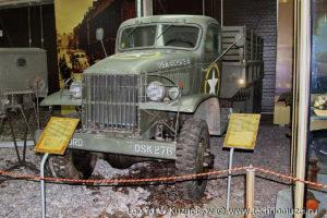 Studebaker US6 на выставке Моторы войны на Поклонной горе
