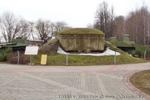 Японский пулеметный ДОТ в Музее на Поклонной горе