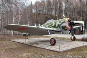 Истребитель Хаябуса в Музее на Поклонной горе