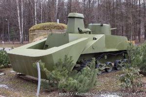 Японский танк Ка-Ми в Музее на Поклонной горе