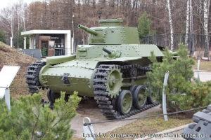 Японский танк Чи-Ха в Музее на Поклонной горе