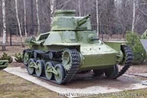 Японский танк Ке-Ну в Музее на Поклонной горе