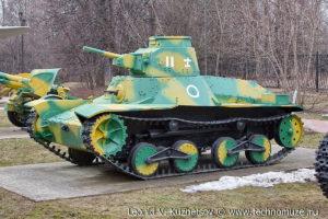 Японский танк Ха-Го в Музее на Поклонной горе