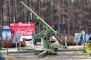 Японская пушка Тип 38 в Музее на Поклонной горе