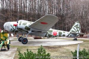 Бомбардировщик Кавасаки в Музее на Поклонной горе