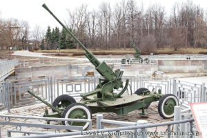 Зенитная пушка 61-К в Музее на Поклонной горе