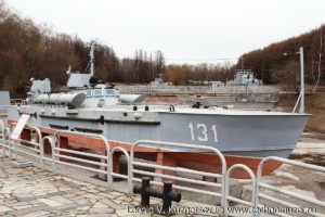 Торпедный катер Комсомолец в Музее на Поклонной горе