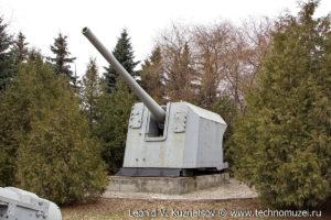 Береговая пушка МУ-2 в Музее на Поклонной горе