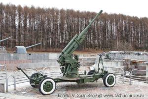 Зенитная пушка 52-К в Музее на Поклонной горе