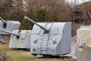 Корабельная пушка Б-34 в Музее на Поклонной горе