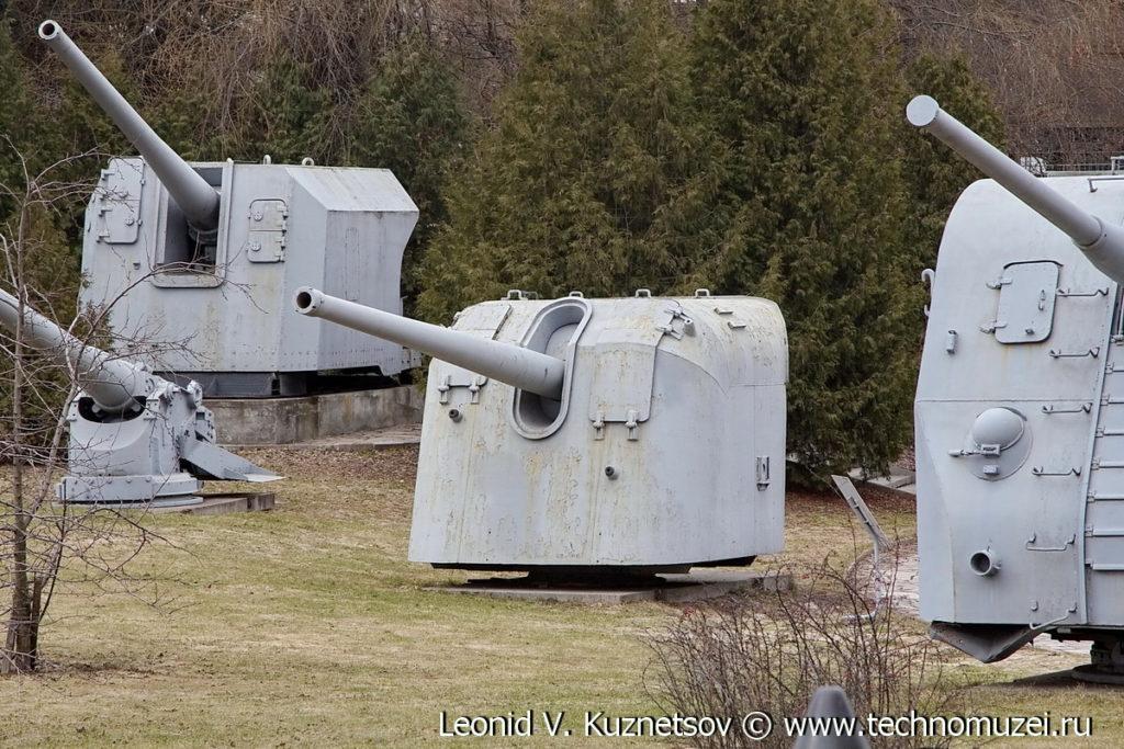 Корабельная пушка Б-13 в Музее на Поклонной горе