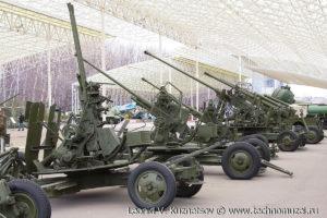 Зенитная пушка 94-КМ в Музее на Поклонной горе