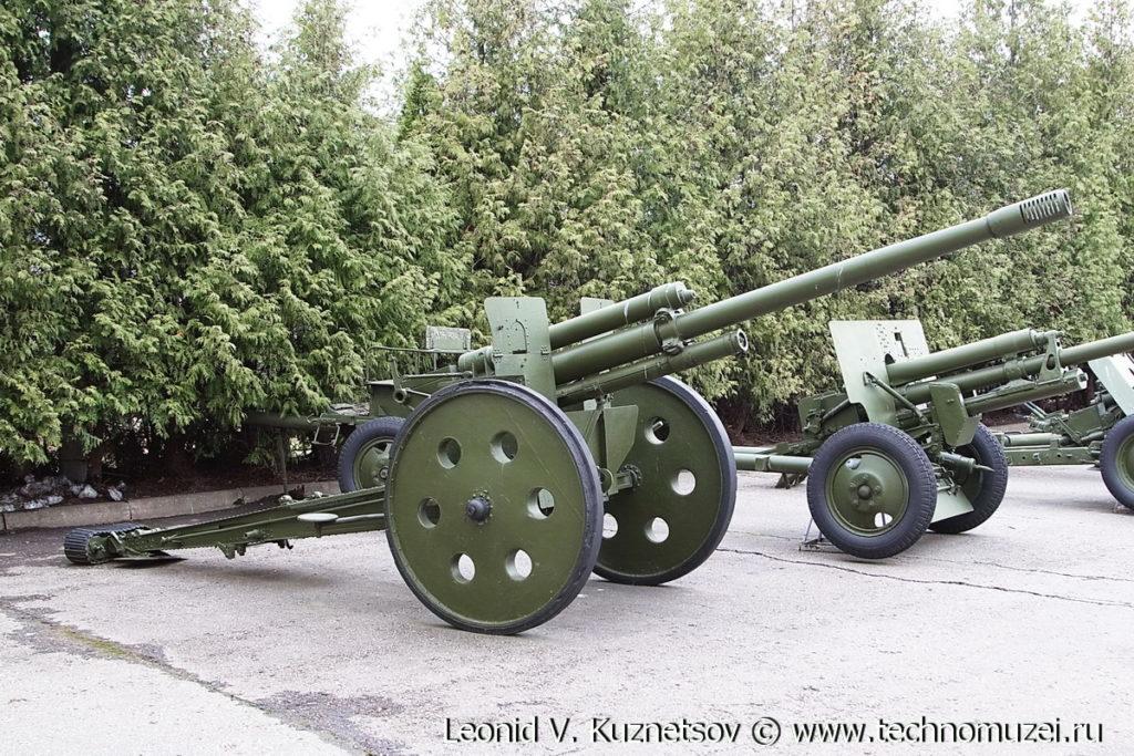 Пушка Ф-20 в Музее на Поклонной горе