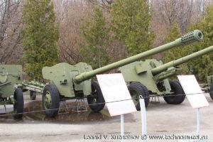 Пушка Д-48 в Музее на Поклонной горе