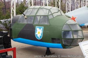 Кабина бомбардировщика Юнкерс в Музее на Поклонной горе