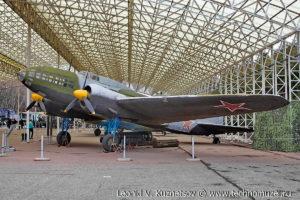 Бомбардировщик Ил-4 ДБ-3Ф в Музее на Поклонной горе
