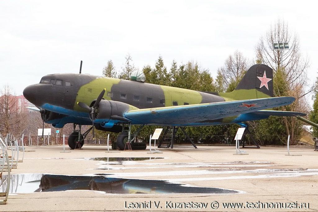 Транспортный самолет Ли-2 в Музее на Поклонной горе