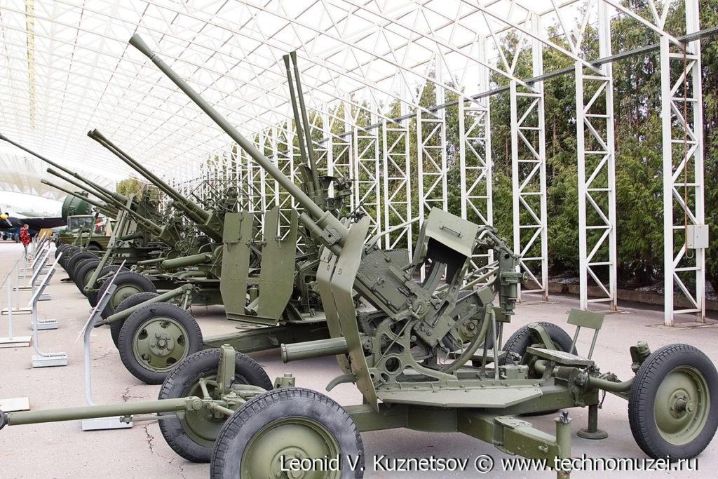 Зенитная пушка 72-К в Музее на Поклонной горе