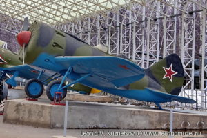 Истребитель И-16 в Музее на Поклонной горе