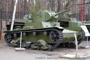 Однобашенный танк Т-26 в Музее на Поклонной горе