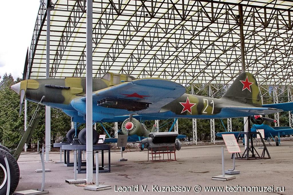 Штурмовик Ил-2 в Музее на Поклонной горе