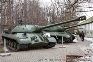 Танк ИС-3 в Музее на Поклонной горе
