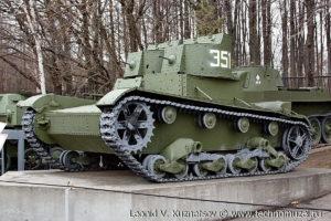 Двухбашенный танк Т-26 в Музее на Поклонной горе