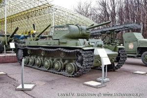 Танк КВ-1С в Музее на Поклонной горе