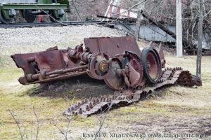 Подбитый танк Пантера в Музее на Поклонной горе