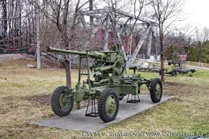Зенитная пушка Bofors в Музее на Поклонной горе