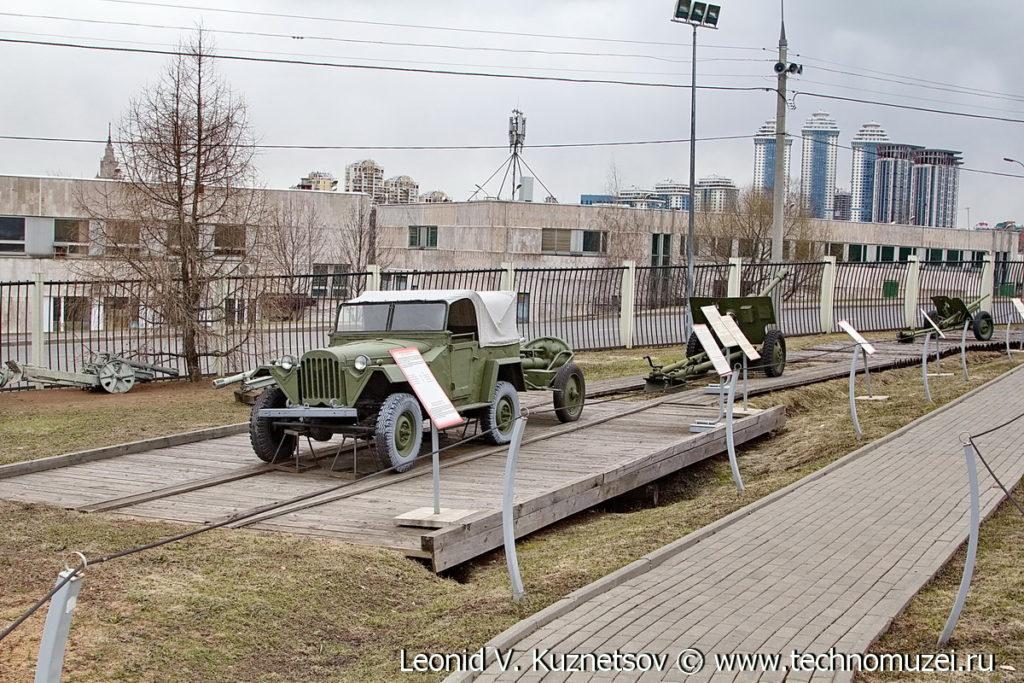 ГАЗ-67Б на военной дороге в Музее на Поклонной горе
