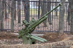 Зенитная пушка 100-К в Музее на Поклонной горе