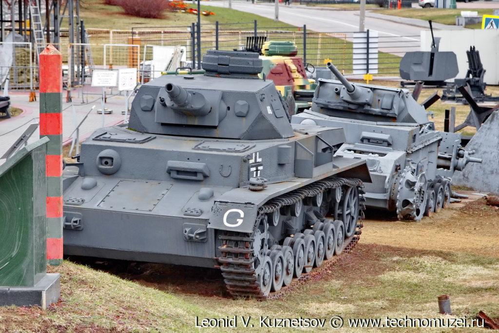 Немецкий танк T-IV в Музее на Поклонной горе