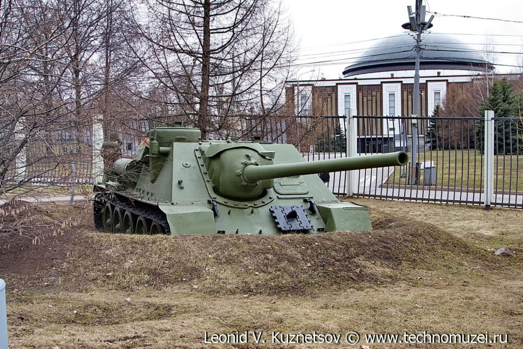СУ-100 в Музее на Поклонной горе