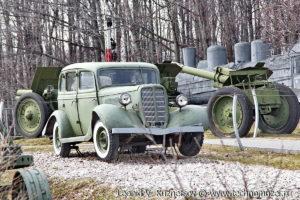 ГАЗ-М-1 в Музее на Поклонной горе