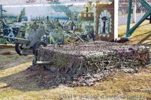 Пулеметное гнездо в Музее на Поклонной горе