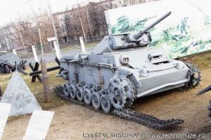 Немецкий танк T-III в Музее на Поклонной горе